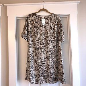 New with tags Animal print shift dress